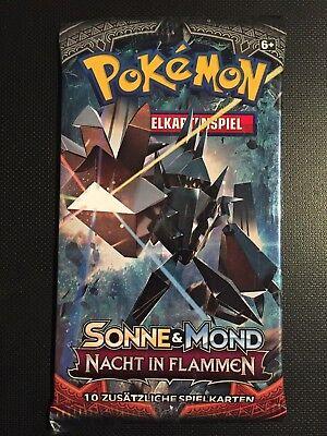Pokemon!! Sonne & Mond - Nacht In Flammen Booster! NEU&OVP! Deutsch!