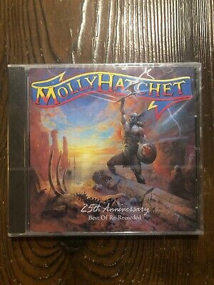 Molly Hatchet - 25th Anniversary Best of Re-Recorded CD new sealed hard rock