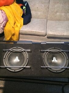 JL audio subs and amps