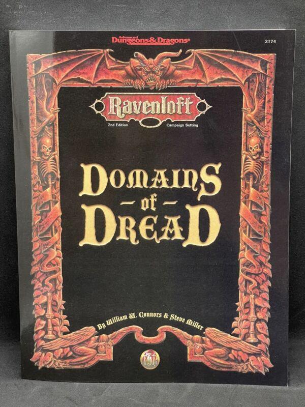 AD&D: Ravenloft - Domains Of Dread - TSR 2174 - PBR