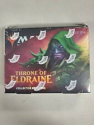 Throne of Eldraine Collector Edition Booster Box - Magic MtG - English - Sealed