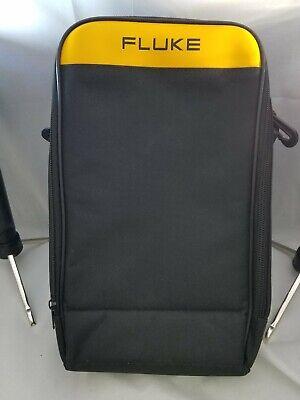 Fluke Large Soft Case 12-7-3 Multiple Compartmentsshoulder Strap