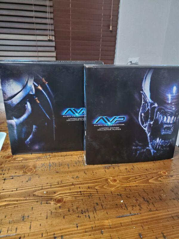 Avp Alien Vs Predator Limited Edition Plate