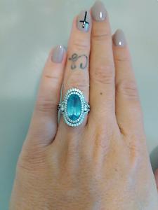 Sshh secrets blue stone ring Pimpama Gold Coast North Preview