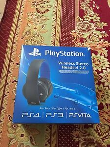 PlayStation Wireless Stereo headsets 2.0 Paralowie Salisbury Area Preview