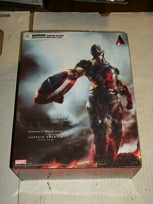 Square Enix Variant Play Arts Kai Marvel Universe CAPTAIN AMERICA Figure