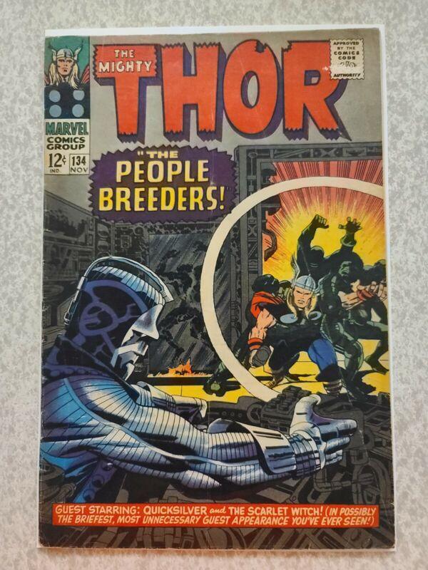 Thor #134 1st appearance high evolutionary