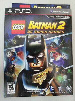 LEGO Batman 2: DC Super Heroes (2012, PS3) Complete NFRS ver
