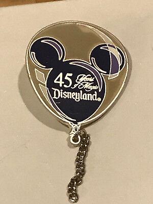 Authentic Walt Disney 45 Years of Magic LE5000 Mickey Ear Balloon Pin Purple