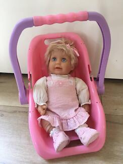 Doll and Carrier Seat