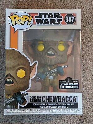 Funko Pop! Concept Series Chewbacca Star Wars Celebration Anaheim