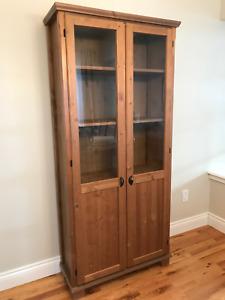 Ikea Hemnes Cabinet with panel/glass door