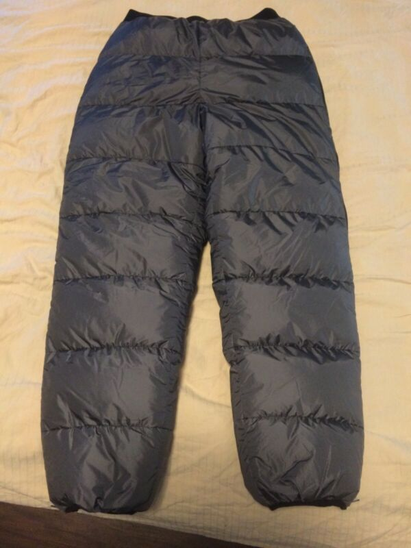 VOLANT DOWN PANTS, WINTER EXPEDITION GARMENTS, BLACK, Free Shipping