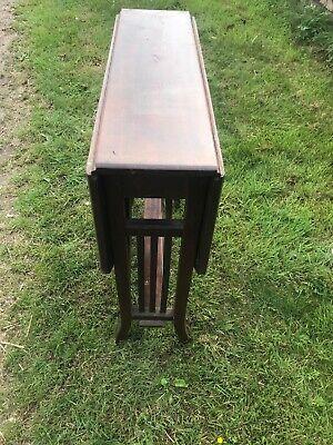 Mahogany Edwardian Sutherland Table