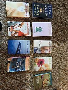 9 books from Sarah Dessen!