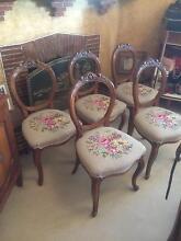 Antique chairs set 5 Fremantle Fremantle Area Preview