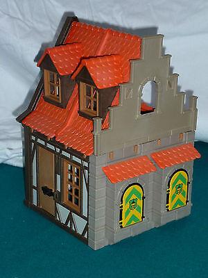 Playmobil Fachwerkhaus, Haus mit Erker, Ritterburg 3666 (208)