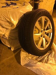SPECIAL PRICE FOR 4 TIRES & RIMS - MUST GO NOW