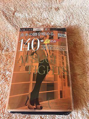 ATSUGI Tights 140 Denier (2 pair set) JAPAN