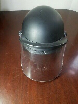 Helmet Super Seer Tactical Police W Protective Safety Shield Size M S1611-600