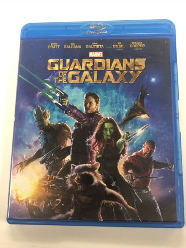 Marvel s Guardians Of The Galaxy Blu-ray, 2014  - $6.99