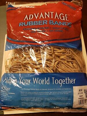 Alliance Advantage Rubber Band No 32 3 L X 18 W In 1 Lb Bag Natural 700 Pc