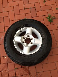 Nissan Navara d22 tyres and rims Seacliff Holdfast Bay Preview