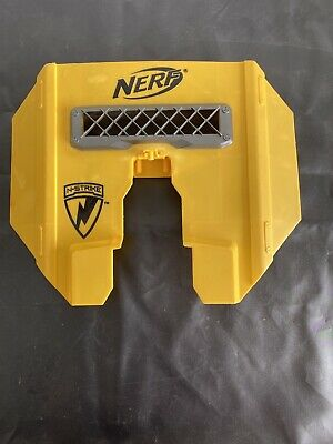 Nerf N-Strike Stampede Blast Shield Attachment Accessory Part Yellow
