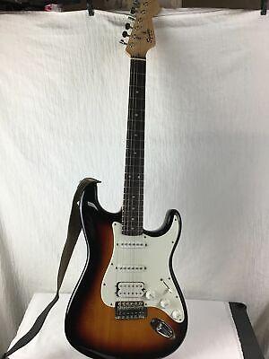 Fender Squier Bulletstart Electric Guitar With Road Runner Case - $99.99