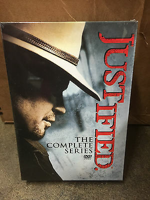 JUSTIFIED The Complete Series Seasons 1-6 NEW DVD 1 2 3 4 5 6 Sealed Box