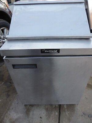 Prep Table Single Door Refrigerated Delfield