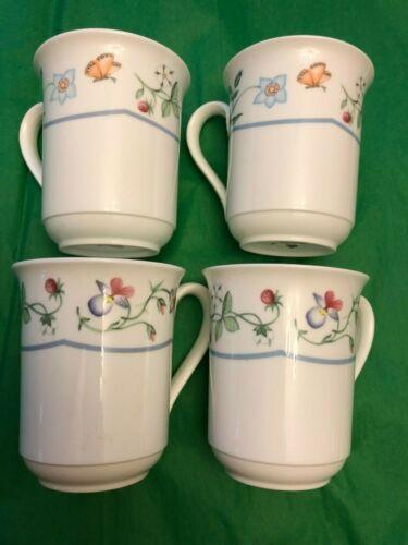 Villeroy & Boch Mariposa Bone China (4) Mugs