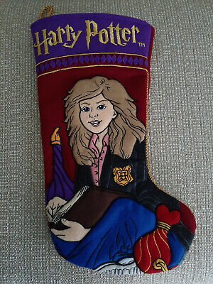 Harry Potter Hermione Granger Christmas Stocking Quilted Felt NEW