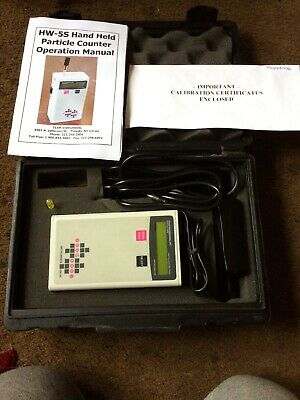 Team Engineering Eng Portable Particle Counter Meter Hw-5s Air Tester