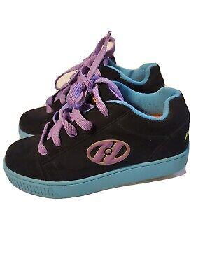 Heelys Propel 2.0 Sneaker Skate Boy Girls Youth Size 2 Black Pink Unisex #770986