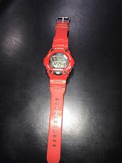 G shock watch red need gone urgent
