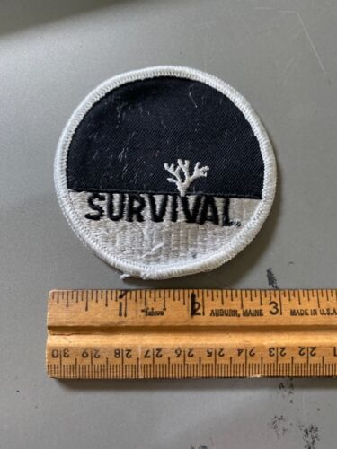 Vintage Early 1970's Survival Hippie Cloth Patch