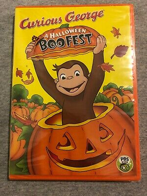 Pbs Curious George Halloween Movie (Curious George A Halloween Boofest DVD Brand new in wrapper   PBS)