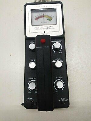 Vintage Radio Shack Micronta 4003 Vlf Metal Detector