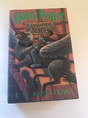 Harry Potter and the Prisoner of Azkaban, 1st US Edition, 3RD