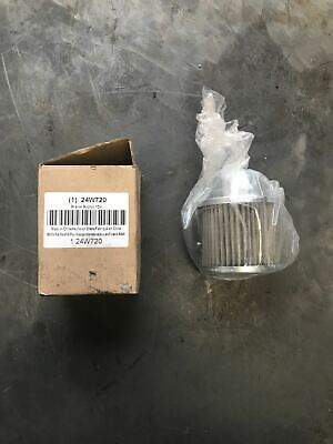 Rigid Three Piece Inner Hydraulic Suction Strainer 1/2