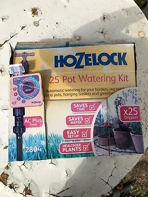 Hozelock 2804 25 pot automatic plant watering kit with sensor plus timer