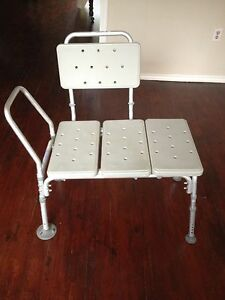 Bathtub bench for health and special needs