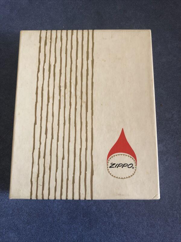 Vintage Original  Box for Zippo Cigarette Ligther, Circa 1962
