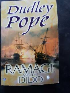 The Lord Ramage Novels & One Yorke Novel  by Dudley Pope