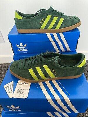 Adidas London 2010 Slime Green Worn UK 11 In OG Box