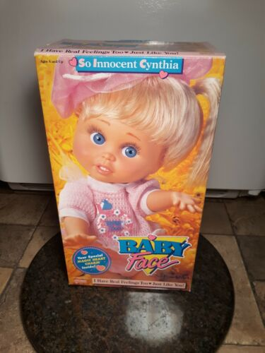 MINT CONDITION NRFB GALOOB BABY FACE SO INNOCENT CYNTHIA DOLL