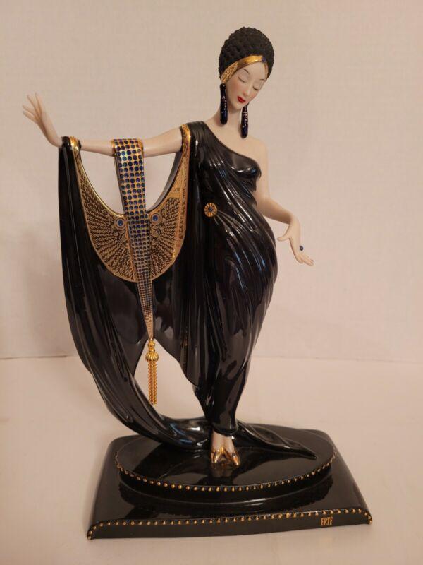 Franklin Mint House of Erte  Glamour Figurine, Art Deco LE