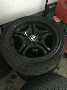 Bmw rims and tires !