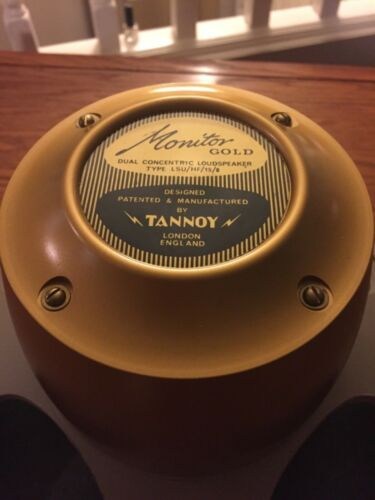 Tannoy Gold Monitor 15 Inch Dual Concentric  (3 Available) Excellent Condition